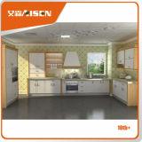 Piccoli armadi da cucina personalizzati della membrana del PVC/armadietto