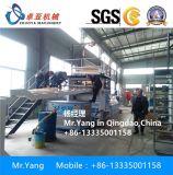 Chaîne de production de pierre de marbre de Faux de PVC machine de marbre d'imitation d'extrusion de feuille de PVC
