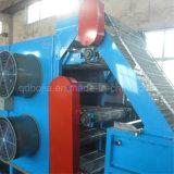 Ineinander greifen-Riemen-Gummiblatt-abkühlender Maschinen-Stapel weg von der Kühlvorrichtung