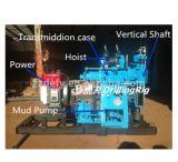 plataforma de perforación rotatoria del receptor de papel de agua Xy-100 del 100m