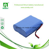 Bloco recarregável da bateria de lítio 18650 22.2V para ferramentas sem corda