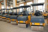 Strecke-Maschinerie 2 Tonnen-Doppelt-Trommel-Vibrationsrolle (YZC2)