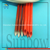 4.0kv Silicone Rubber Coated Glassfiber Sleeving Silicone Fiberglass Sleeves