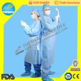 De hygiënische Geduldige Toga van de Stof van SMS/pp/schrobt Kostuums/de Kleding van het Ziekenhuis