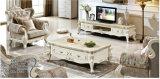 Set televisivo, nuovo tavolino da salotto classico, mobilia domestica del salone (1506)