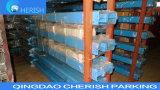 Zwei Pfosten-freier Fußboden-Doppelt-Zylinder-hydraulischer Auto-Aufzug