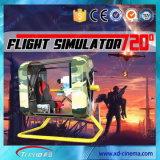Grado 2015 della strumentazione 360 del parco di divertimenti Flight Simulator