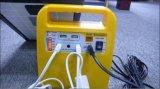 Portable 10W / 7ah / 12V DC Solar Panel Home Lighting Système d'alimentation / énergie