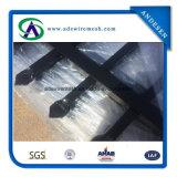 Palizada usada fuente de la seguridad de la piscina de China pálida/hierro labrado que cerca el panel de Eurofence para la venta