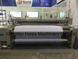 空気ジェット機の織機のための編む機械