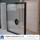 La hoja/curvó el vidrio aislado de la doble vidriera para el vidrio del edificio