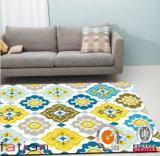 カスタマイズされたスリップ防止領域敷物の現代ホーム印刷のカーペット