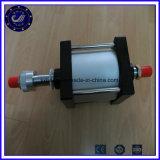Composants pneumatiques de cylindre pneumatique normal d'air d'alliage d'aluminium