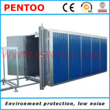 Linha do pulverizador de pó para a grande capacidade do revestimento de produtos