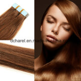 100% Remy brasiliano Tape Human Hair Extensions Strong Blue Lace Tape Adhesive 20PCS/Set Tape in unità di elaborazione Hair di Skin Weft