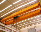 Pont roulant de poutre de double d'utilisation d'atelier de main gauche avec l'élévateur électrique