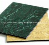 Panneau composé en aluminium décoratif intérieur bon marché