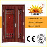 Acero inoxidable marco de la puerta Fotos Diseño Puerta (SC-S015)