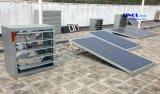 大規模のAC/DCのアダプター(SN2015018)が付いている壁の土台のための産業使用250Wの太陽動力を与えられた排気の換気装置