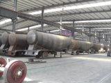 acoplado a granel del petrolero del cemento 60m3 semi del acoplado