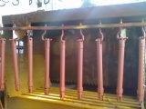 Atuação dobro soldada do cilindro hidráulico