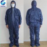 保護絵画のための使い捨て可能なSpunbondのNonwovenつなぎ服または安全衣服
