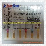 歯科器械のDentsplyの根管のProtaperファイル(十字と)