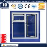 最もよい固体木アルミニウムクラッディングの開き窓のガラス窓(CW50)