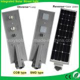 6W-100W LED 1개의 태양 빛에서 통합 태양 거리 도로 정원 램프 전부