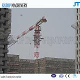 Gru a torre Topless massima idraulica 6t del fiocco Ktp5510 di migliori vendite della Cina per il macchinario di costruzione