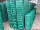 Acoplamiento de alambre soldado cubierto PVC para el edificio del jardín