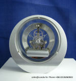 Horloge squelettique ronde K8052 de bureau