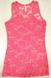 T-shirt sexy de gilet de lacet de Rose d'été en gros (3061)