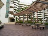 Decking низкого общественного парка обслуживания Eco-Friendly деревянный пластичный составной