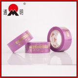 Cinta adhesiva impresa modificada para requisitos particulares para el embalaje del cartón