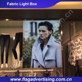 Rectángulo ligero publicitario impresionante 2016 de la tela de Hotsale con el marco de aluminio