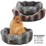 Lit d'animal familier de 2015 produits d'animal familier, luxe de lit de chien (YF82067)