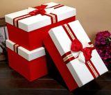 Rectángulo de regalo elegante del chocolate del rectángulo de la venta caliente con Niza Bowknot, rectángulo de empaquetado del regalo