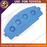 고성능 차는 Toyota를 위한 브레이크 패드 04465-26320 사용을 분해한다