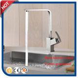Mélangeur carré de bassin de mélangeur de robinet de cuisine d'usine de la Chine