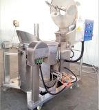 Máquina de pipoca de alta qualidade a gás com misturador