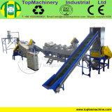 Alto bolso tejido PP de la productividad que recicla la línea de película/de bolsos de sequía que se lavan/hoja de los PP del PE