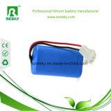 18650 paquete de la batería del ion de 7.4V 2200mAh Li para las luces del LED