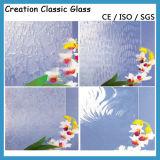 3mm, 3.5mm, vetro modellato di Karatachi di colore di vetro di vetro/gelo di Nashiji della radura di 4mm 5mm