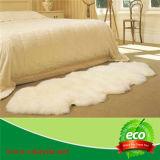 ホーム装飾のためのカスタマイズされた染められた雪の先端カラーのオーストラリアの羊皮の倍の敷物
