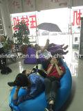 2016 جديدة علاوة نيلون [ريبستوب] بناء قابل للنفخ هواء أريكة كسولة مألف ينام [أير بغ] وضع تضاريس حقيبة [أير بد] قابل للنفخ