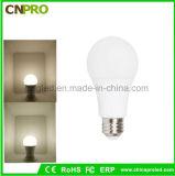 Bulbo personalizado logotipo de alumínio da lâmpada 3W do diodo emissor de luz do corpo + do PC com Ce & certificado de RoHS