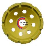 Cold-Pressed単一の列のコップの粉砕車輪