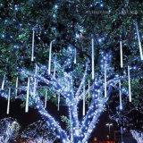 [50كم] [لد] عيد ميلاد المسيح نيزك أنابيب أضواء لأنّ بيتيّة [إكسمس] شجرة عطلة حديقة زخرفة