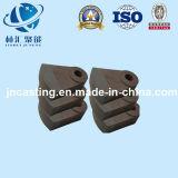 Отливка части бабы молота/дробилки/песка/подвергая механической обработке часть